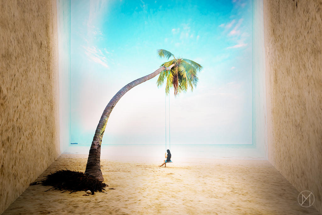 Tropical Illusion by Favoo