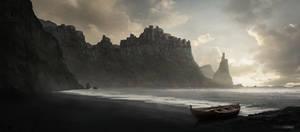 Castle on the Cliffs | GoT Fan Art by Favoo