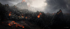 Magma Landscape by Favoo