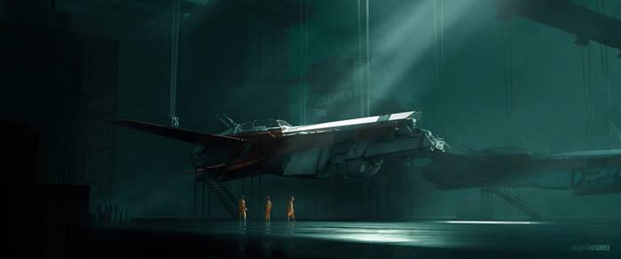 Hangar - Land of cold 1
