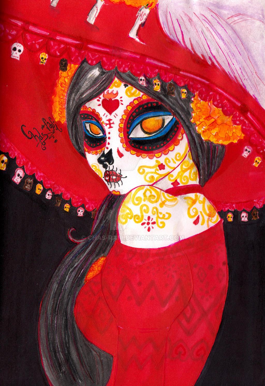 Catrina : El libro de la vida by chas-rani on DeviantArt