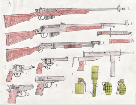 Trade/lend-lease weapons part 1