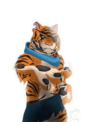 Tiger Claw /TMNT 2012 by LeysyWolf