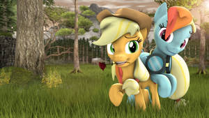 Appledash 4k by RedAceOfSpades