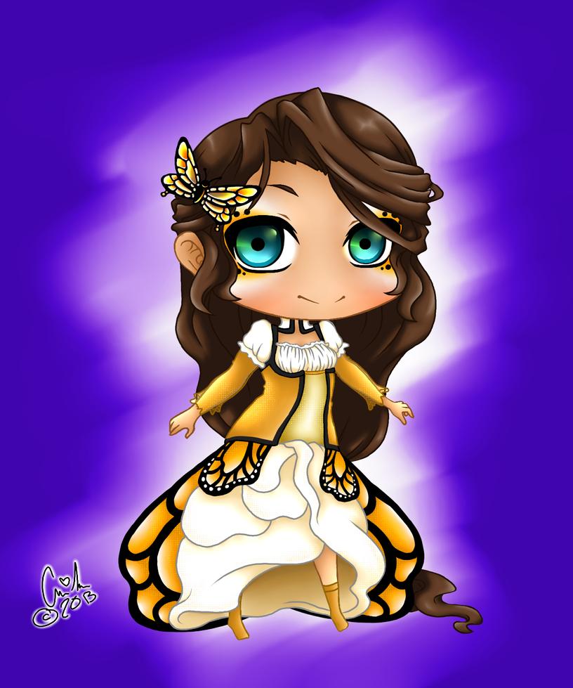 Monarch Chibi Adoptable by Iabeth