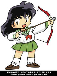 Chibi Kagome by mint9