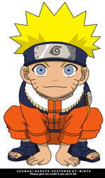 Chibi Naruto Vector by mint9