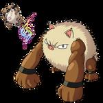 Mega Primeape pokemon