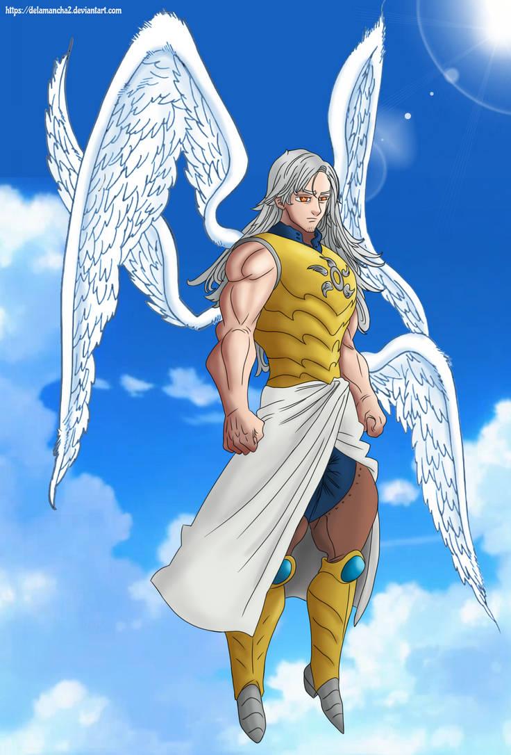 Mael 4th Archangel - Nanatsu no taizai by DelaMancha2 on ...