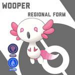 Wooper Regional Form Fakemon Challenge