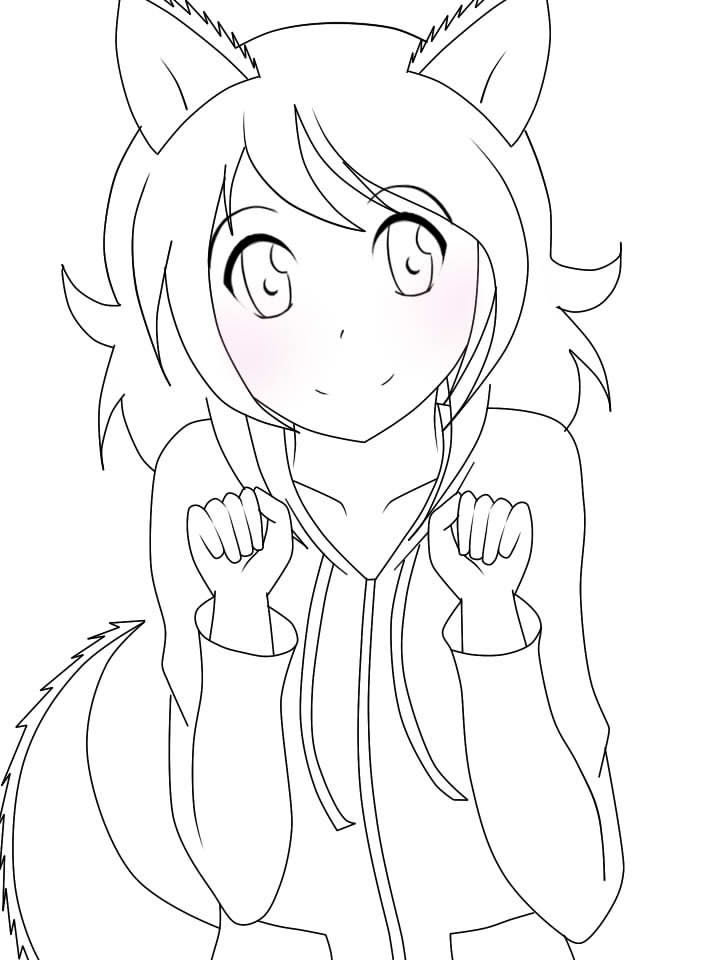 Anime Haloween Coloring Page 1 by aurorastar21 on DeviantArt