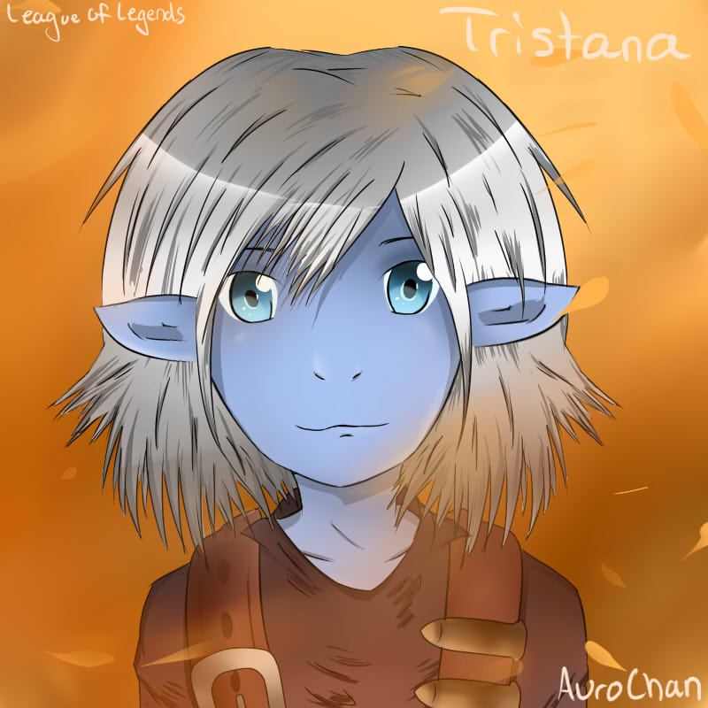 [League of Legends] Tristana (Grown up Anime) by aurorastar21
