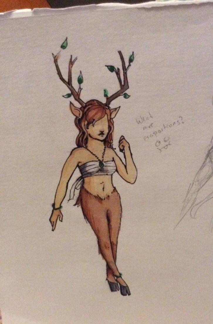 refrence for Faun by AndromedaDoodles
