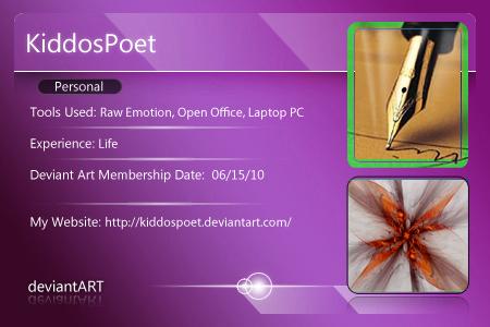 KiddosPoet's Profile Picture