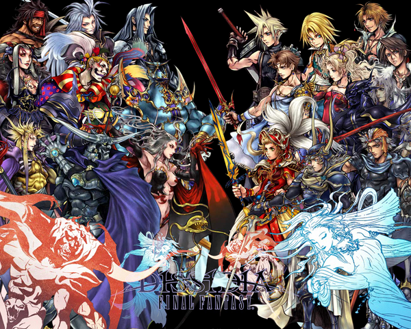 dissidia wallpaper. Dissidia Wallpaper Full by