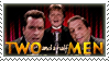 Two and a Half Men Stamp