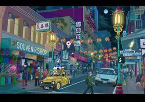 Chinatown by Blue-Kachina