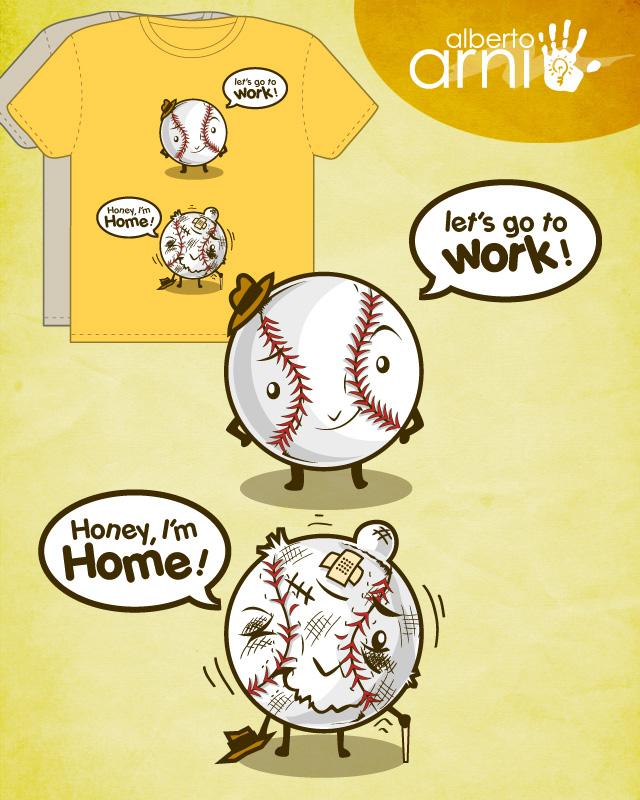 Baseball work by AlbertoArni