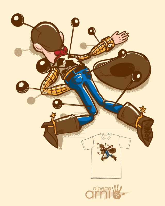 Woodoo Threadless by AlbertoArni