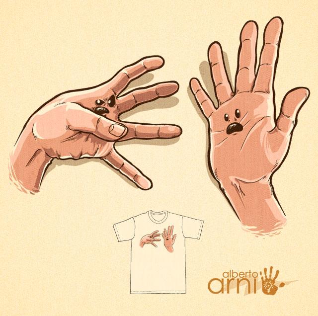 Practical Hand Joke by AlbertoArni