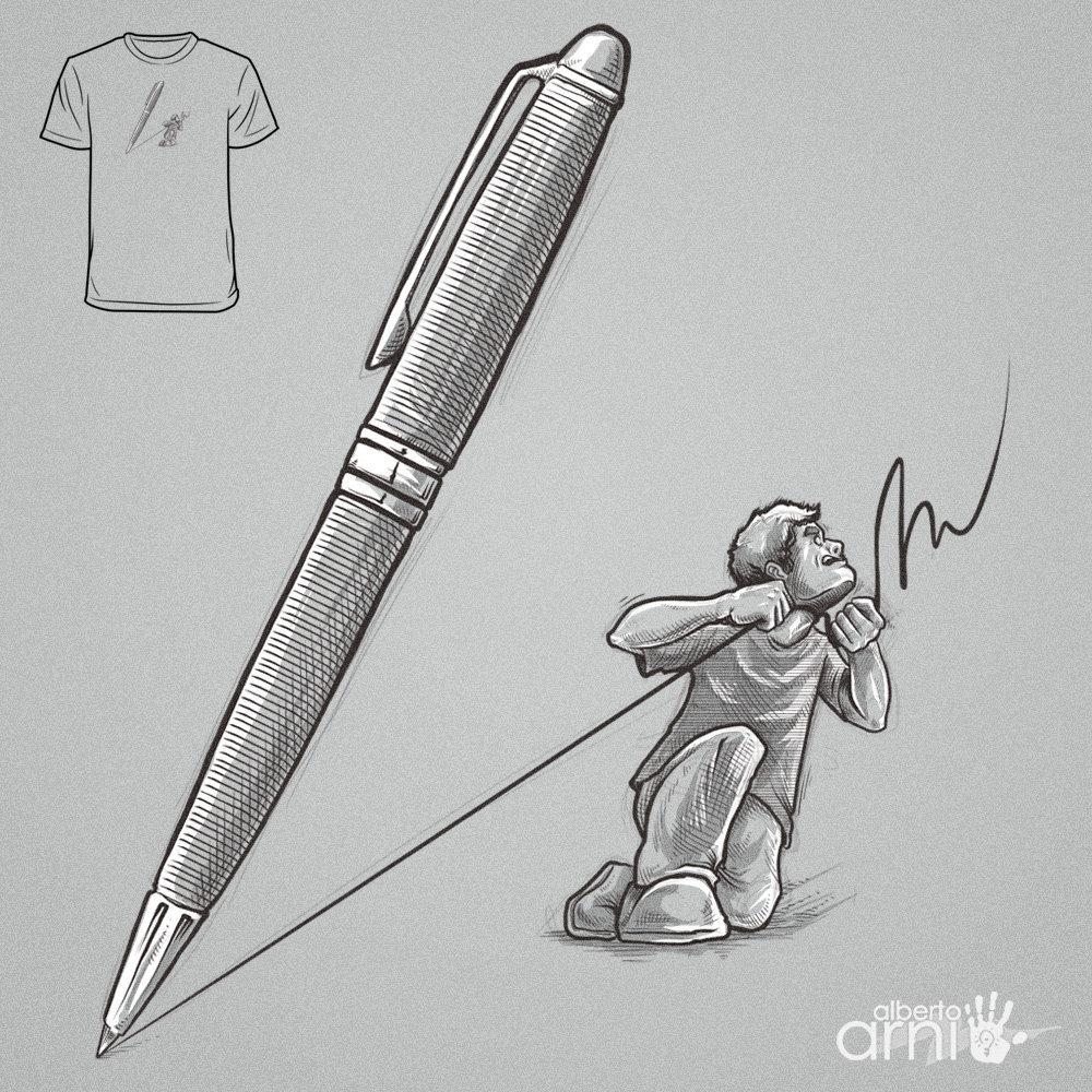 LineArt Killer by AlbertoArni
