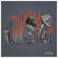 Prehistoric Street Art by AlbertoArni