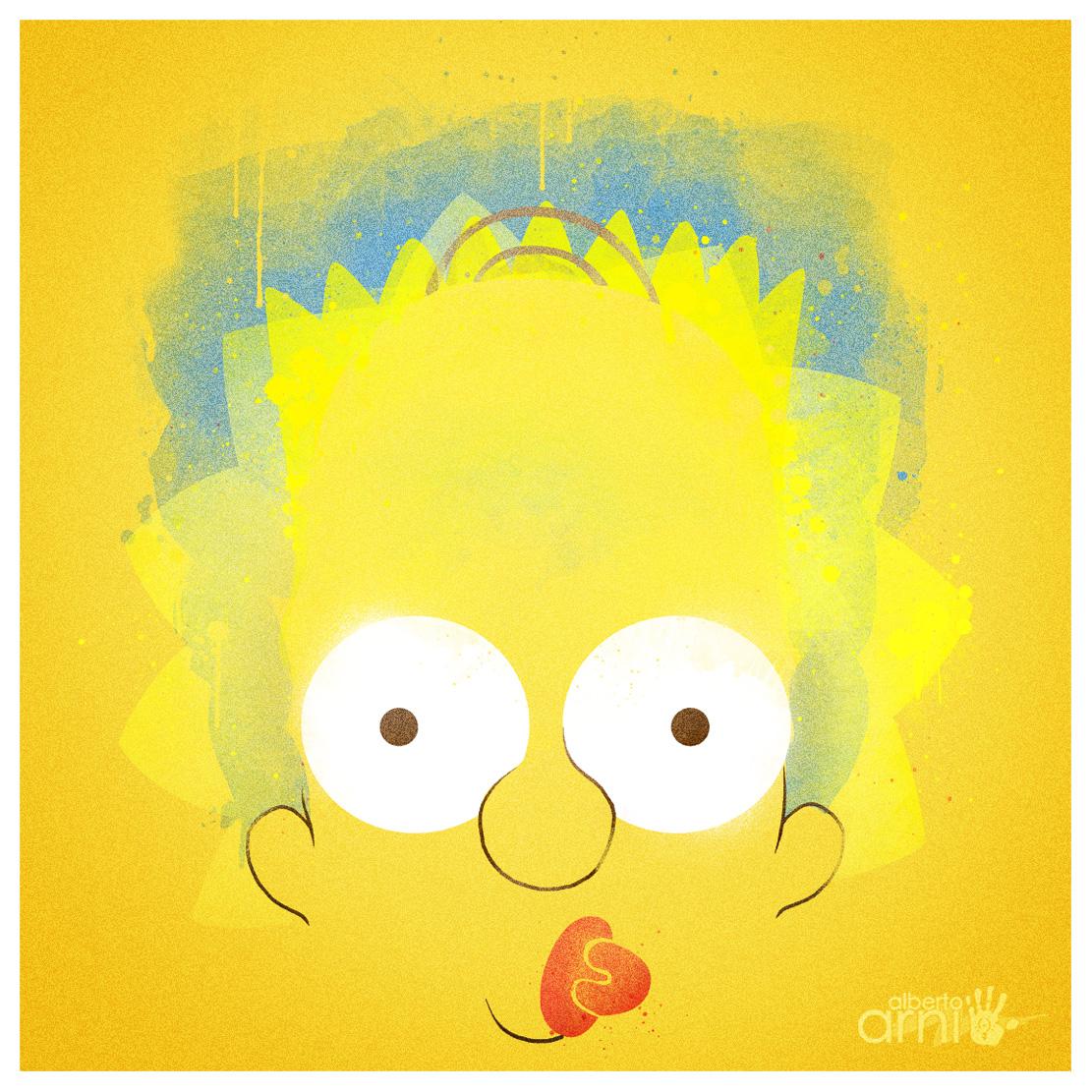 Simpsons by AlbertoArni