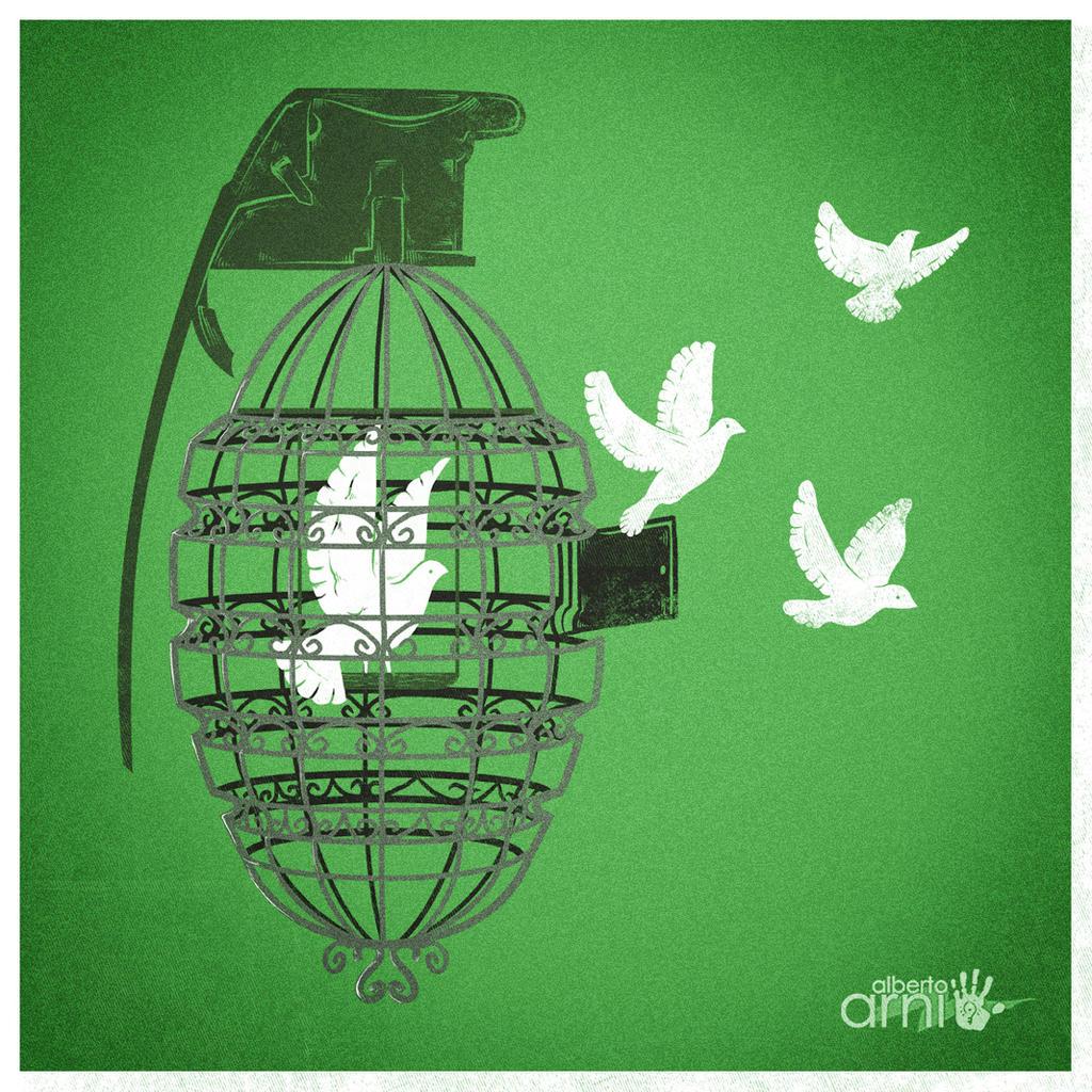 Peace II by AlbertoArni