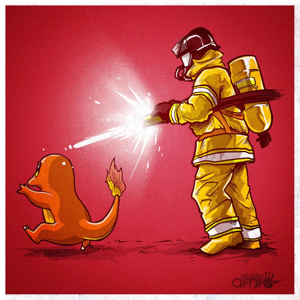 Stop the Fire! by AlbertoArni