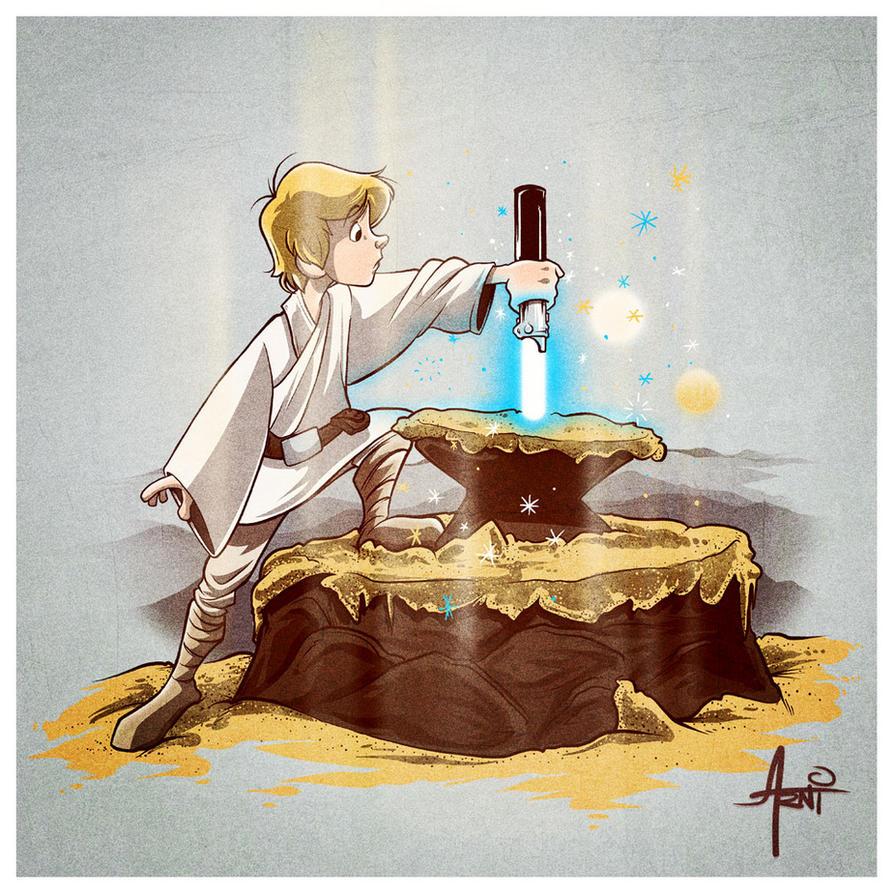 Arthur Skywalker UPDATED! by AlbertoArni