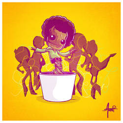 The Groot 5 by AlbertoArni