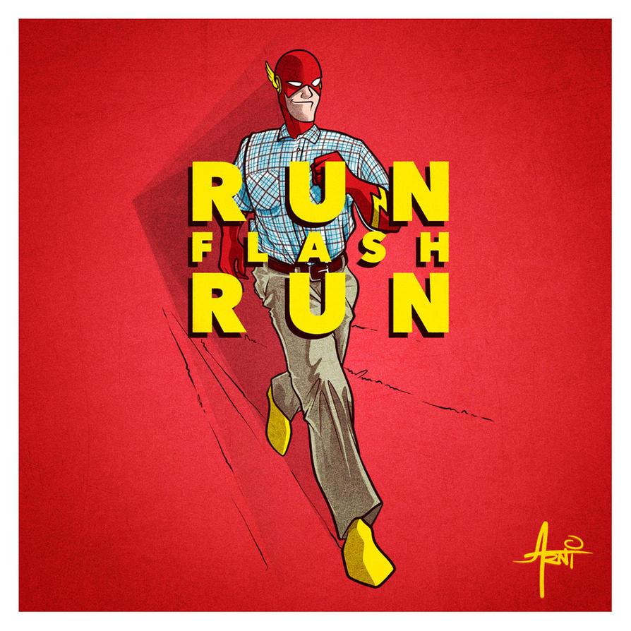Run Flash Run! by AlbertoArni