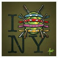 I Turtle NY by AlbertoArni