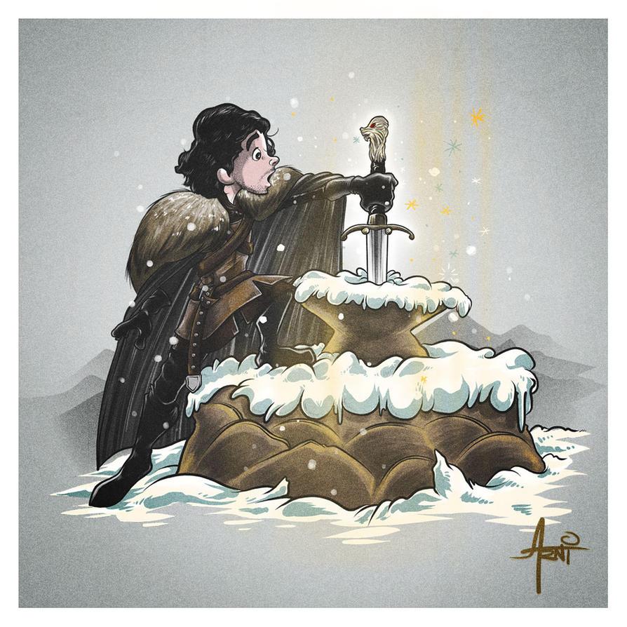 King In The North by AlbertoArni
