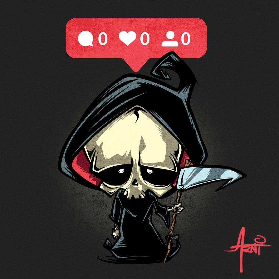 The Lonely Reaper by AlbertoArni