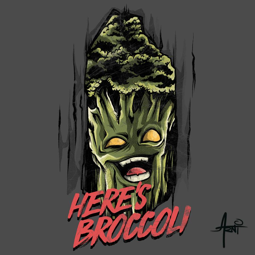 Here's Broccoli by AlbertoArni