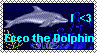 Ecco the Dolphin Stamp by SonicMinion