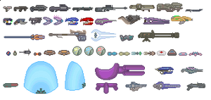 Halo Weapons Sprites