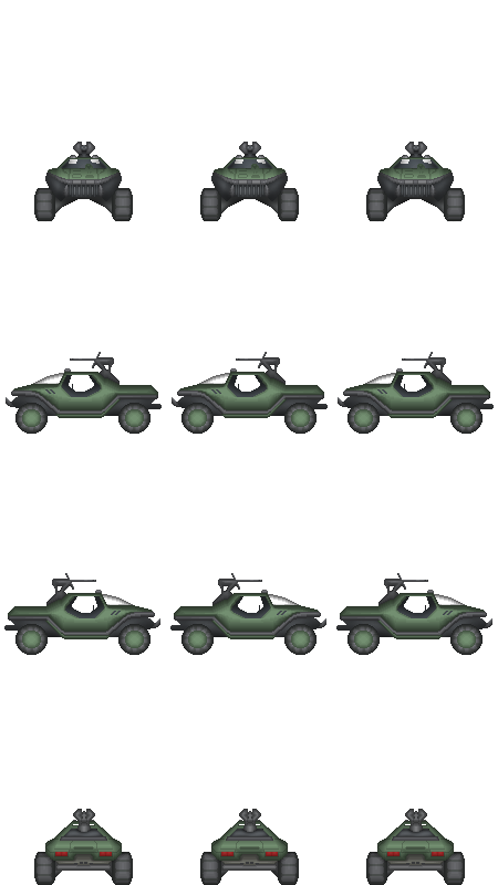 Halo Warthog Sprites by purplejub1993DJC