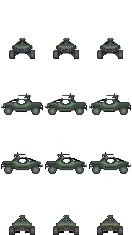Game Vehicle Build