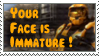 Immature Stamp -RvB- by purplejub1993DJC