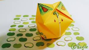 Origami Balloon Leafeon