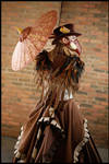 Steampunk Pheasant: Bustle and Back