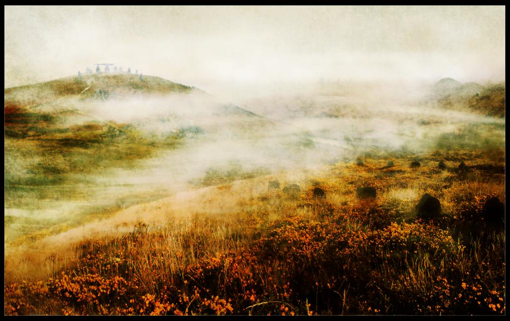 LotR: Fog on the Barrow-downs by LadyElleth