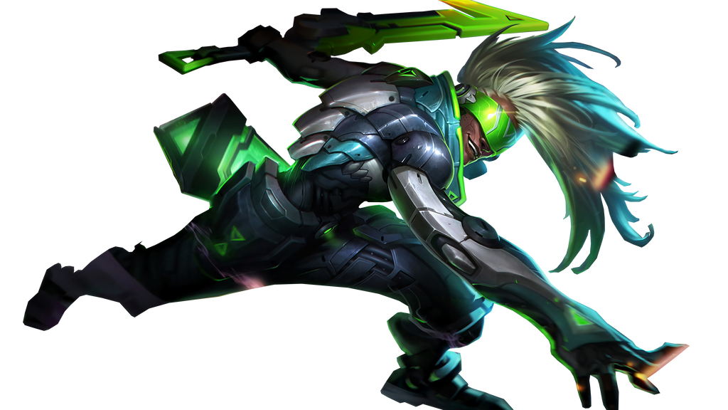 how to get the project ekko skin border
