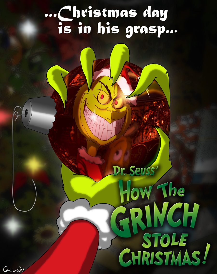 How The Grinch Stole Christmas 1966 Movie Poster.How The Grinch Stole Christmas By Slyrr On Deviantart