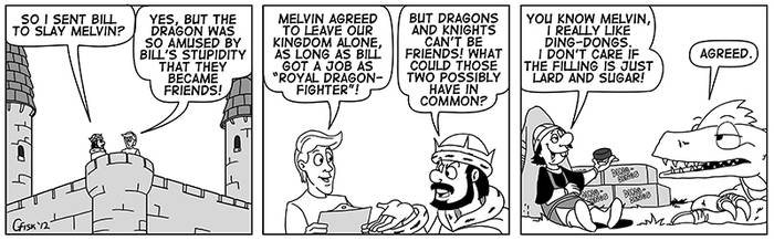 The Origin of Bill and Melvin #2 by Slyrr