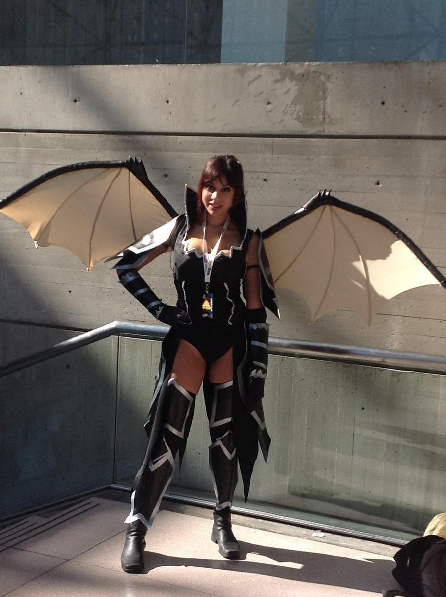 Erza Scarlet black wing armor cosplay  by MrThompson777Erza Scarlet Black Wing Armor Cosplay
