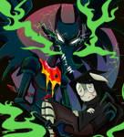 Good Big Angery Monster Dog [Fanart} by Crimson-Hooligan
