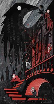 Featherdark - Six of Crows Papercraft
